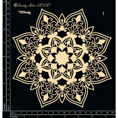 Dusty Attic - Mandala1 by Nuneka