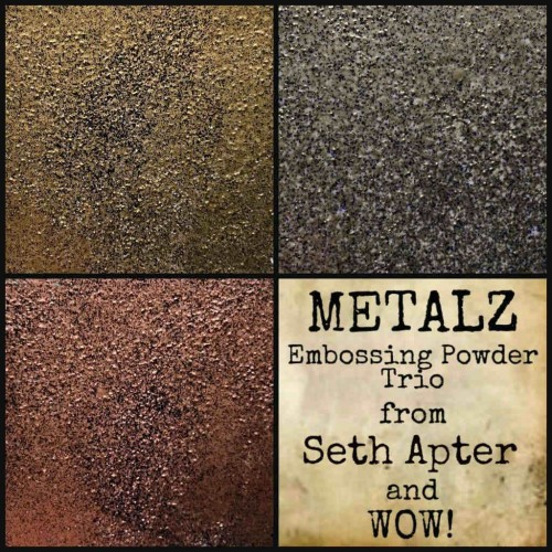 Kit Polvos embossing WOW! Trio Apterfied Metalz*Seth Apter Exclusive*