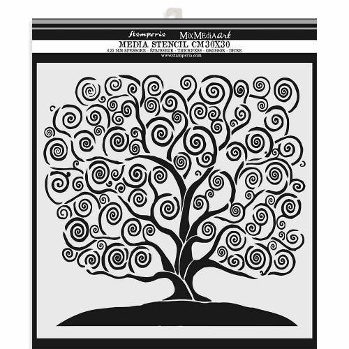 Stencil Stamperia - Tree of life