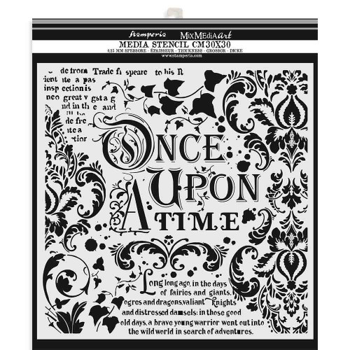 Stencil Stamperia - Once upon a time