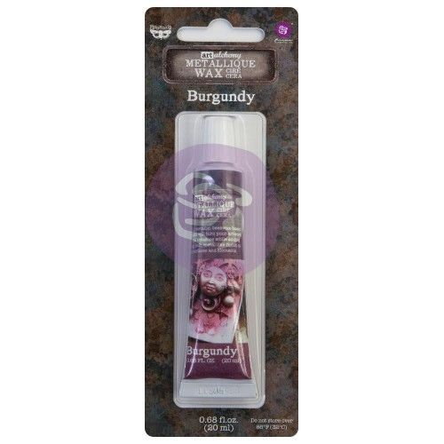 Cera Finnabair Art Alchemy Metallique Wax - Burgundy