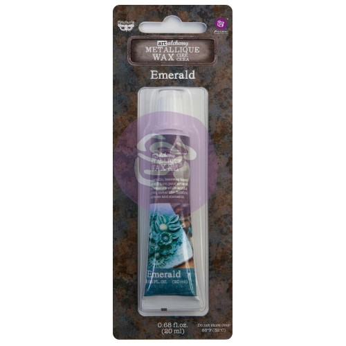 Cera Finnabair Art Alchemy Metallique Wax - Emerald