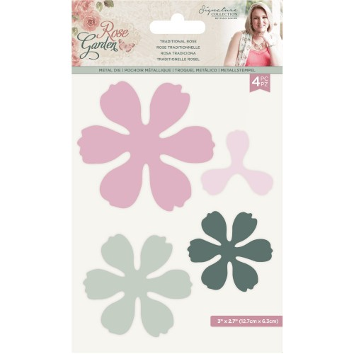 Kit de 4 troqueles Crafter's Companion Rose Garden