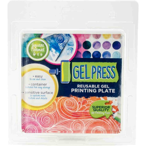 Gel Press Gel Plate 15 x 15 cm.