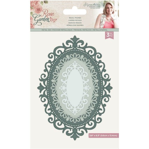 Kit de 3 troqueles Regal Frames Crafter's Companion by Sara Davis