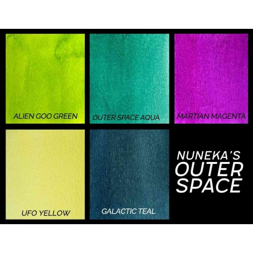 Polvos Lindy's Stamp Gang Outer Space Magical by Nuneka