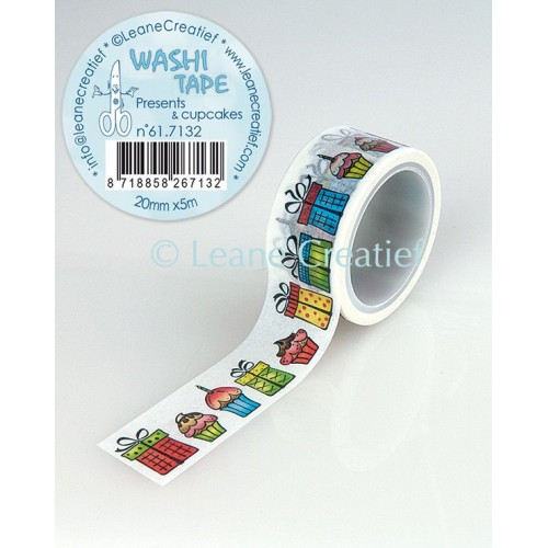 Washi Tape Presents & Cupcakes