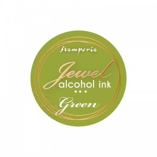 Jewel Alcohol Ink Stamperia - Green