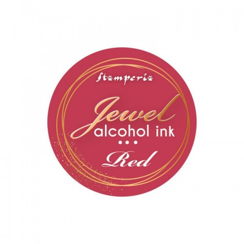 Jewel Alcohol Ink Stamperia - Red