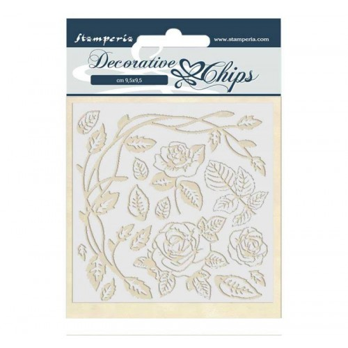 Stamperia Decorative chips - Roses