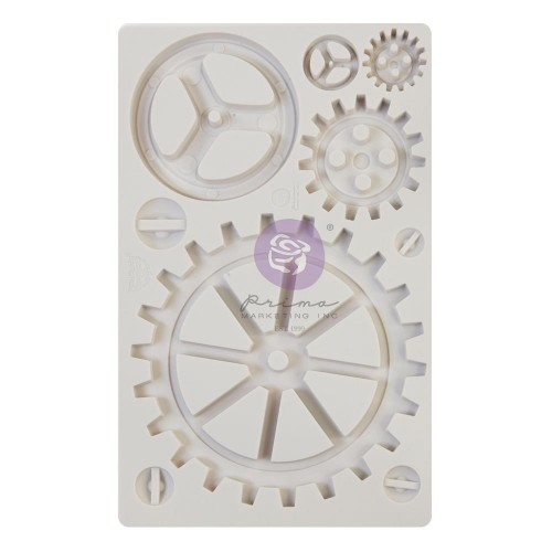 Finnabair Decor Moulds - Large Gears