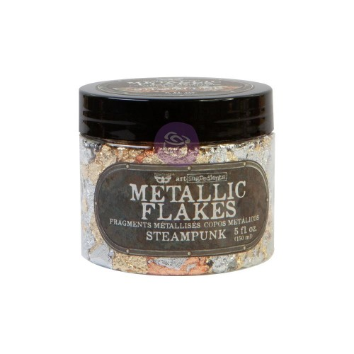 Finnabair Art Ingredients Metal Flakes 150ml. Steampunk