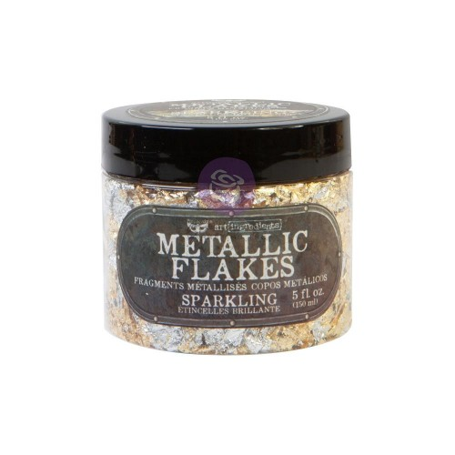 Finnabair Art Ingredients Metal Flakes 150ml. Sparkling