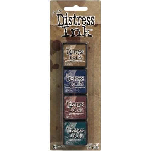 RANGER-Distress Mini Ink Kit - 12