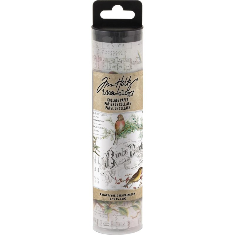 Idea-Ology Collage Paper Aviary - Tim Holtz