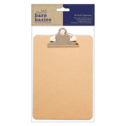 Kraft Clipboard A5 Papermania