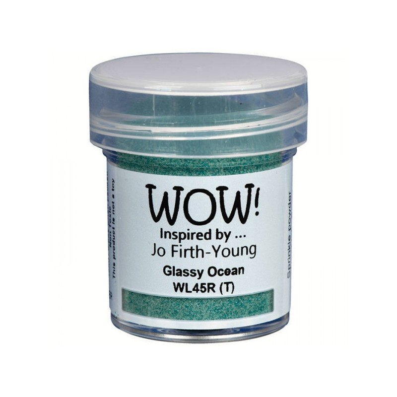 Polvos embossing WOW - Glassy Ocean - Regular Jo Firth-Young