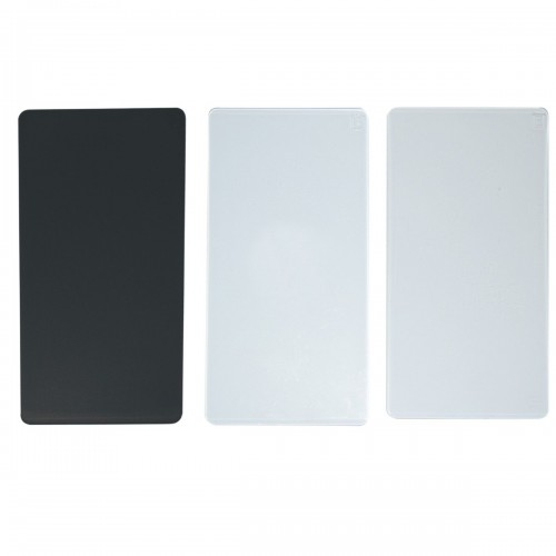 Set de 3 placas de corte y embossing para easy mini
