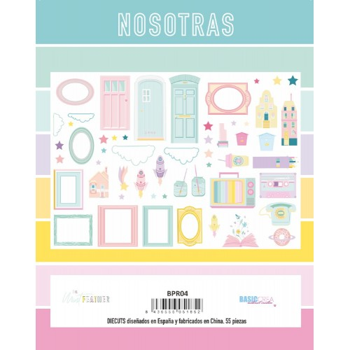 Die cuts Nosotras - The Mint Feather