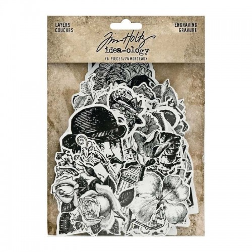 Idea-ology Tim Holtz Layers Engraving