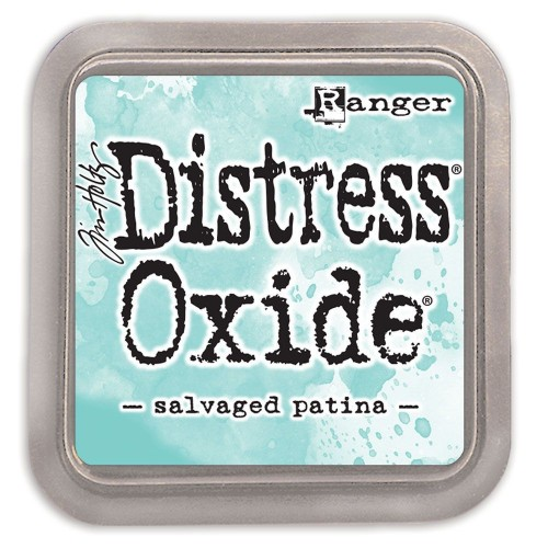 Tinta Distress Oxide Tim Holtz - Salvaged Patina