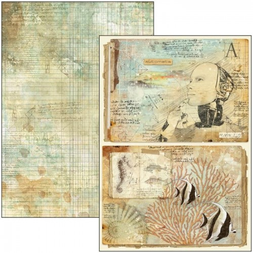 Scrapbooking Creative Pad DIN A-4 - Ciao Bella. Sign Of The Times