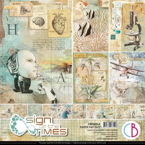 Kit de Papeles 30 x 30 Ciao Bella - Sign Of The Times