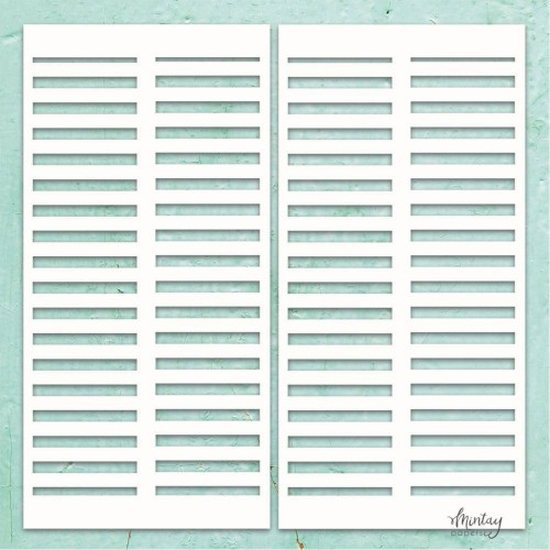 Mintay Papers Chipboard - Shutters