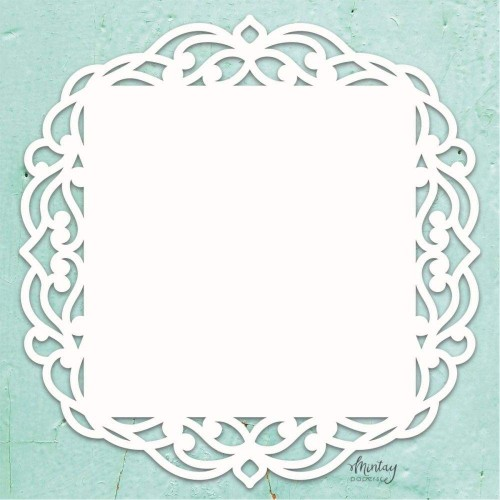 Mintay Papers Chipboard - Fancy Square