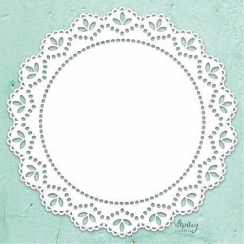 Mintay Papers Chipboard - Doily