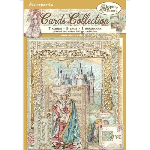 Cards Collection - Sleeping Beauty. Stamperia
