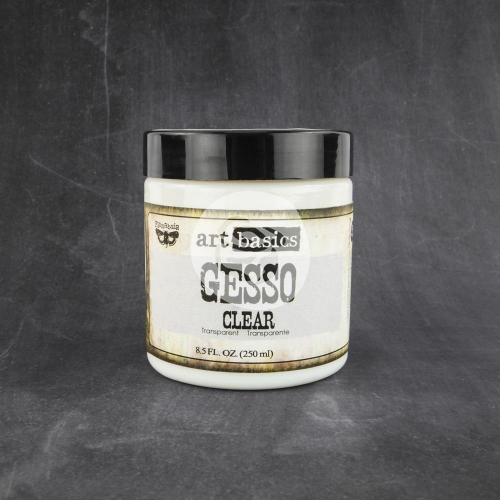 Art Basics Gesso clear Finnabair. 250 ml.
