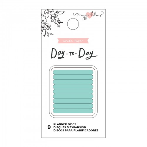 """Planner Disc Small Mint Day to Day 1,25"""""""