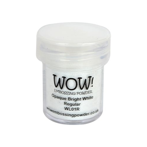 Polvos embossing WOW - OPAQUE BRIGHT WHITE REGULAR