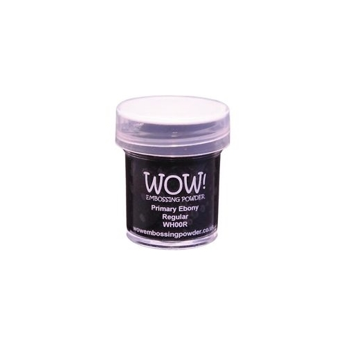 Polvos embossing WOW - PRIMARY EBONY REGULAR