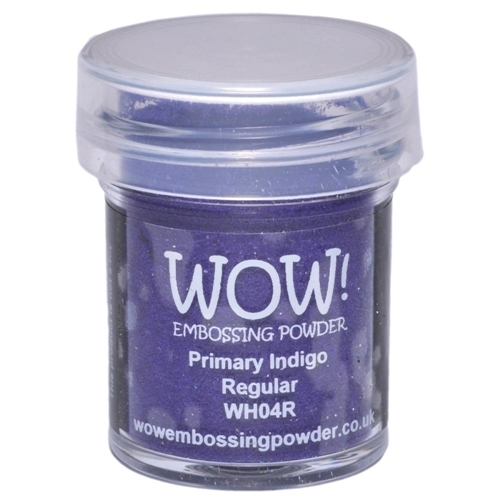 Polvos embossing WOW - PRIMARY INDIGO REGULAR