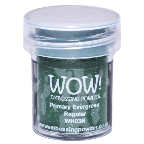Polvos embossing WOW - PRIMARY EVERGREEN REGULAR