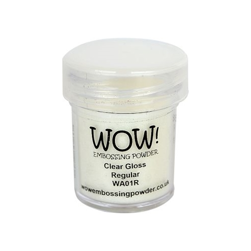 Polvos embossing WOW - CLEAR GLOSS REGULAR