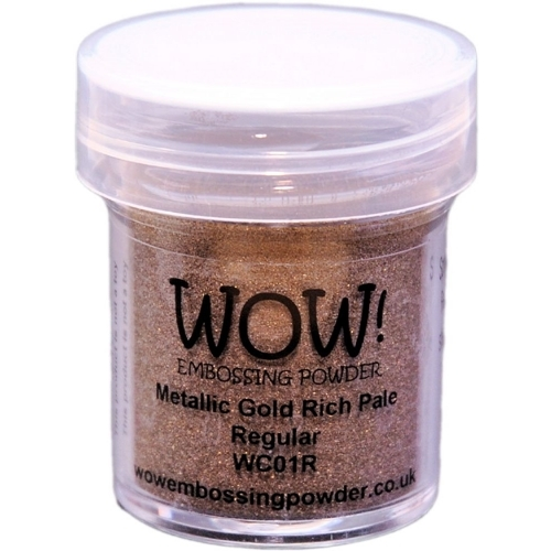 Polvos embossing WOW - GOLD RICH PALE Regular