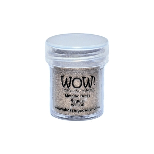 Polvos embossing WOW - METALLIC BRASS Regular