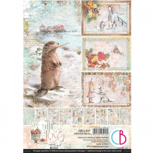 Creative Pad DIN A-4 - Ciao Bella. The Gift of Love