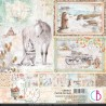 Kit de Papeles 20 x 20 Ciao Bella - The Gift of Love