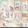 Kit de Papeles 30 x 30 Ciao Bella - The Gift of Love