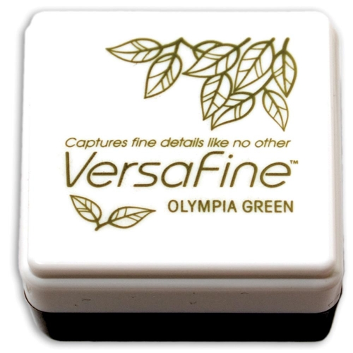 TSUKINEKO-VersaFine Small Ink Pad. Olympia Green