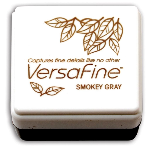 TSUKINEKO-VersaFine Small Ink Pad. Smokey Gray