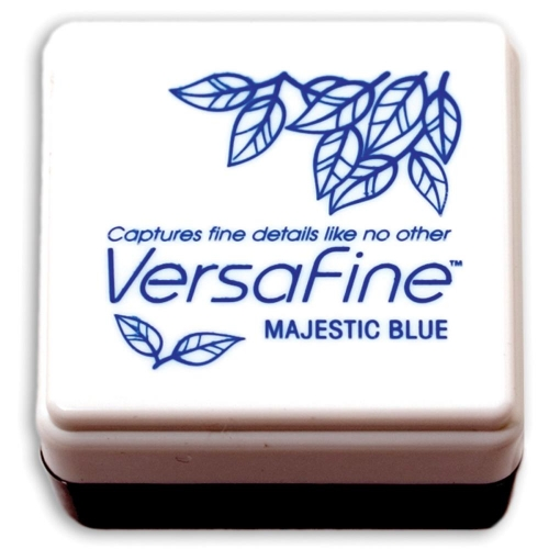 TSUKINEKO-VersaFine Small Ink Pad. Majestic Blue