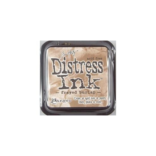 Tinta Distress Frayed burlap