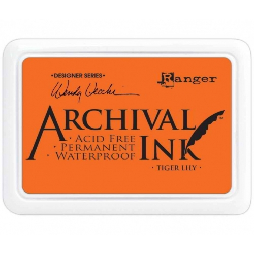 Wendy Vecchi Designer Series Archival Ink Pad. Tiger Lily
