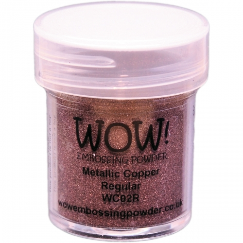 Polvos embossing WOW - Metallic Copper