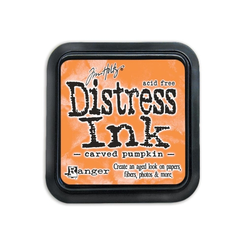 Tinta Distress Carved Pumpkin
